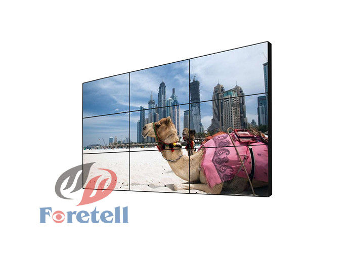 8mm Thin Bezel 4K Video Wall 65 Inch Meeting Room Lcd Display 178º Viewing Angle